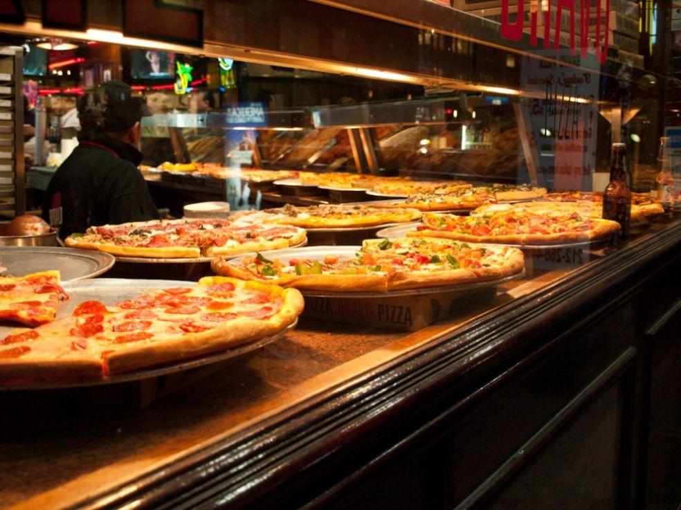 Пиццы в Нью-Йорке