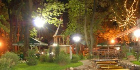 Садово-парковое освещение на участке загородного дома