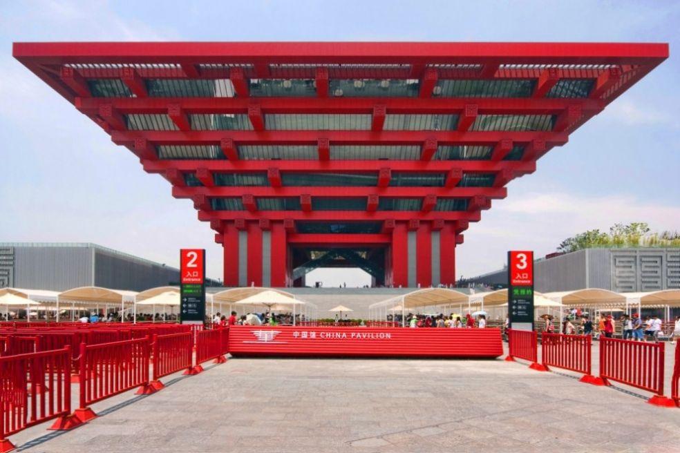 Китайский павильон на Экспо-2010, Шанхай
