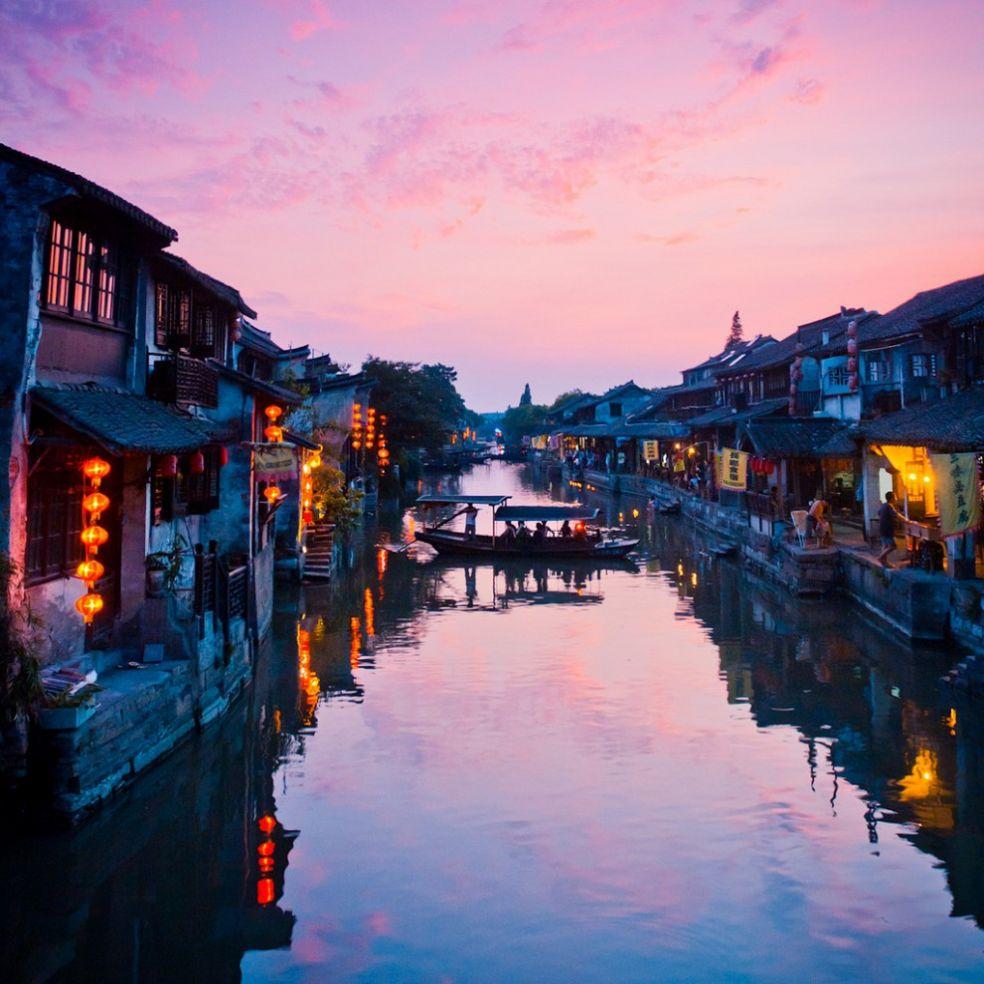 Поселок Ситан, провинция Чжэцзян