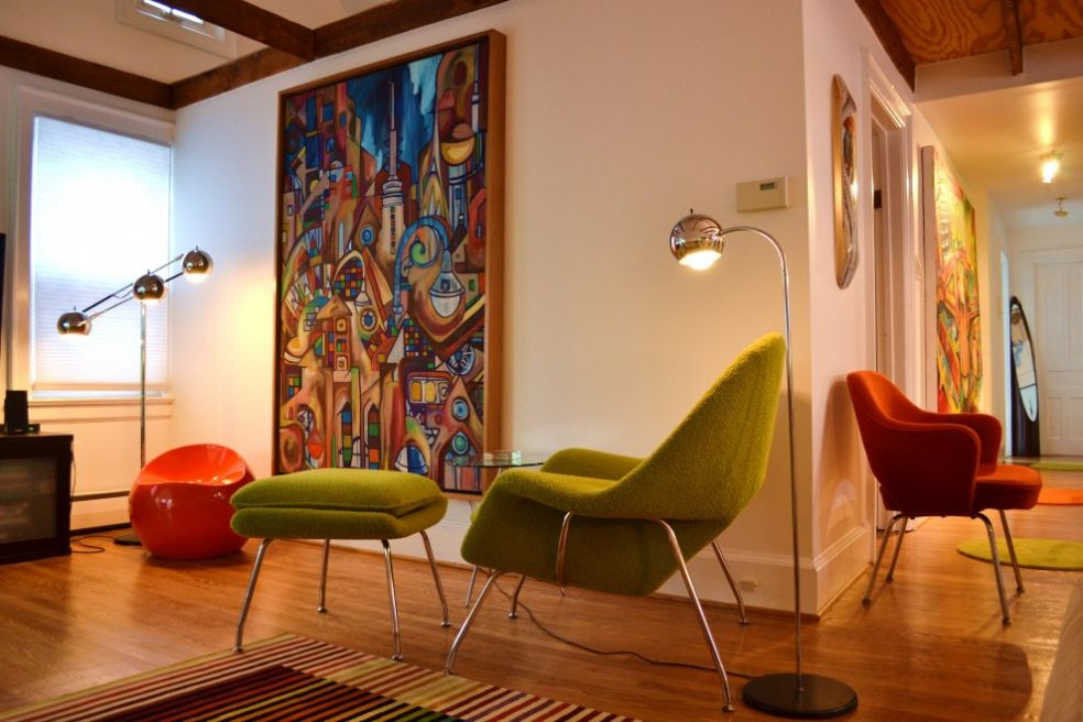 Кресла от студии Нолл
