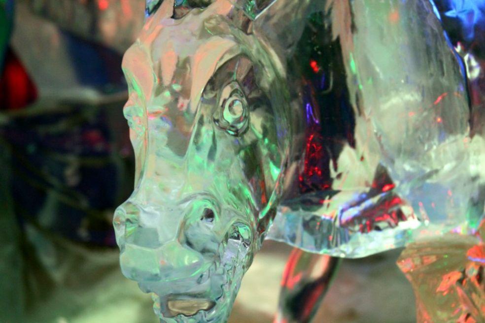 Василиса премудрая, фестиваль ледяных фигур в Москве