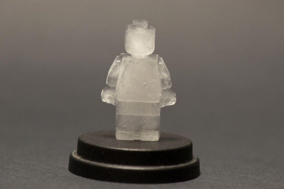 Ледяная сцена о Гарри Поттере на фестивале ледяных фигур в Техническом университете Мичигана