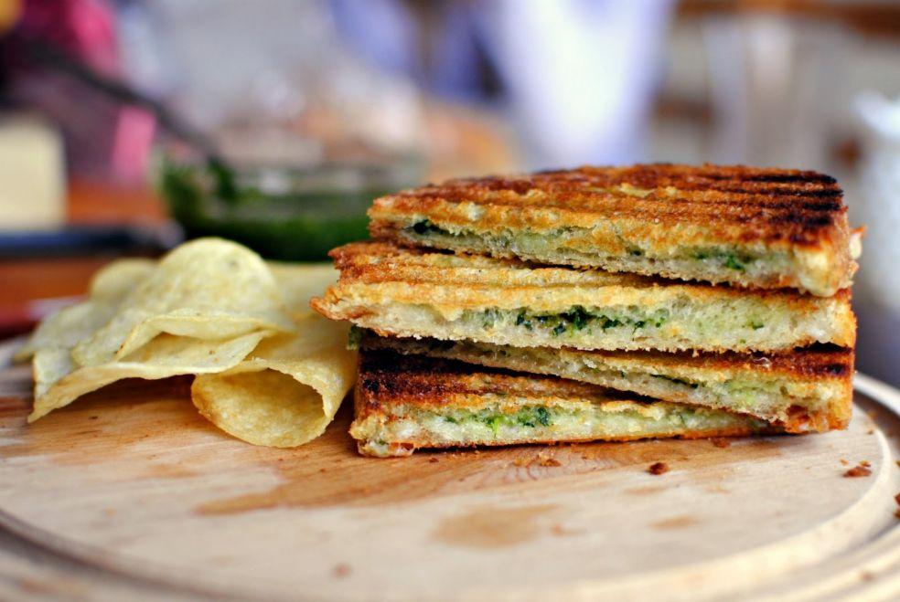 Сэндвичи с песто