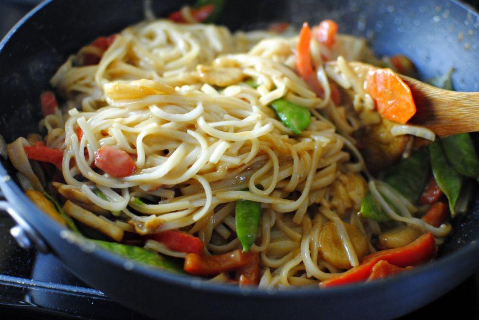 Овощная начинка по-тайски фото-рецепт