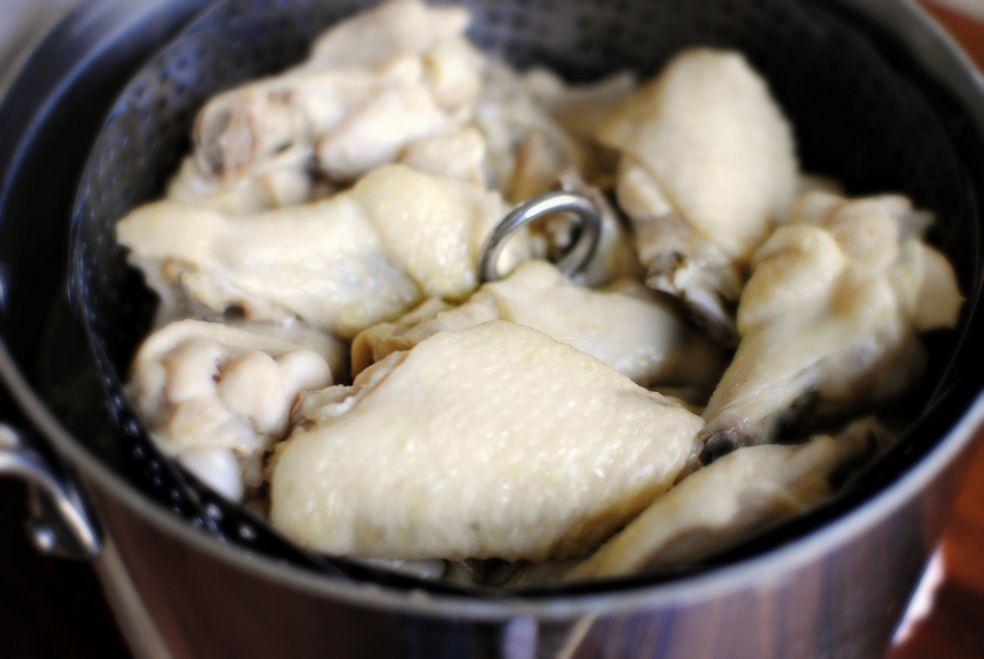 Куриные крылышки с пряным соусом фото-рецепт