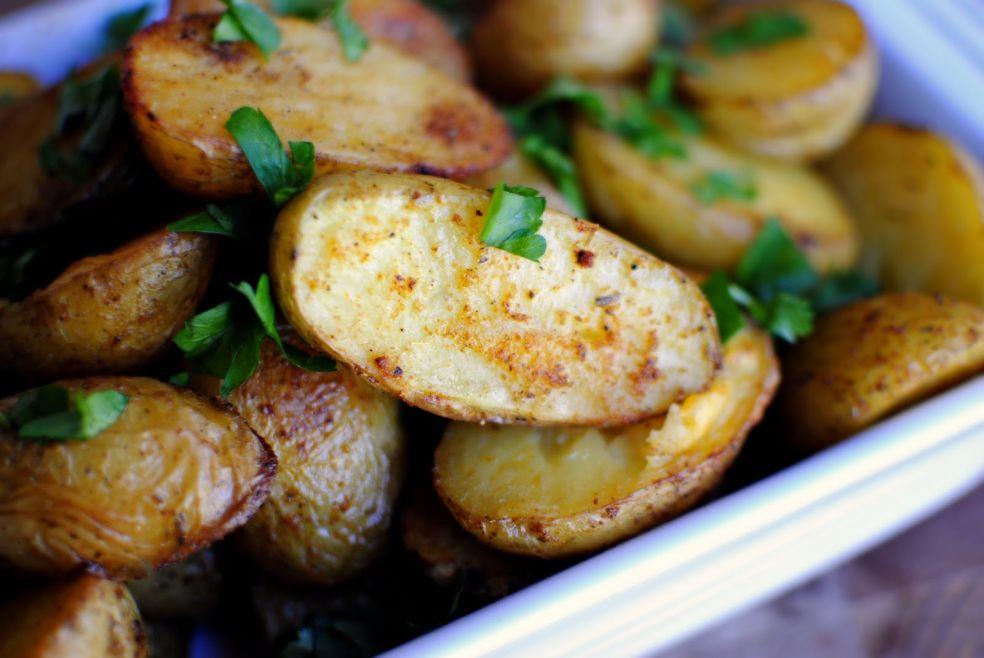 Пряный картофель по-французски фото-рецепт