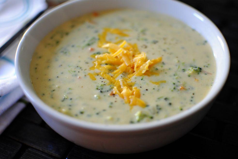 Сырный суп с брокколи фото-рецепт