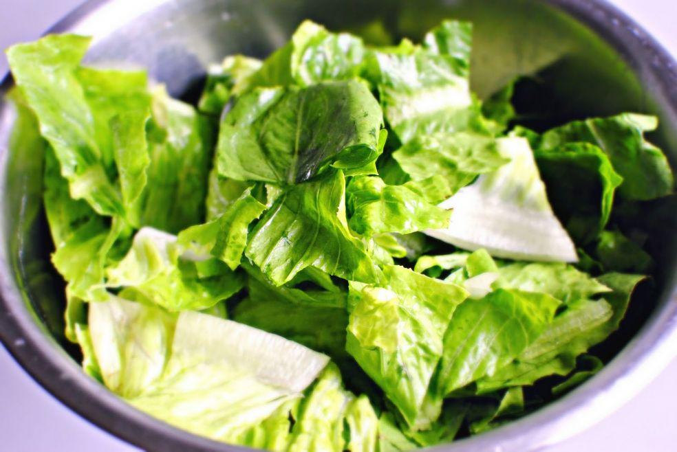 Садовый салат фото-рецепт