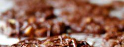 Шоколадное печенье с пеканом