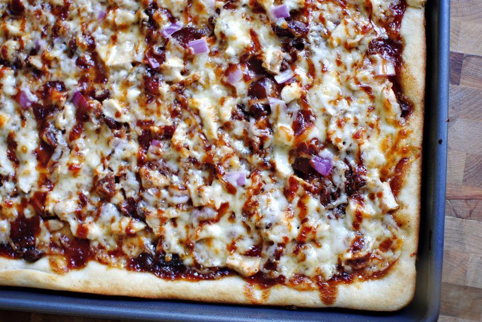 Пицца с фазаном на гриле фото-рецепт