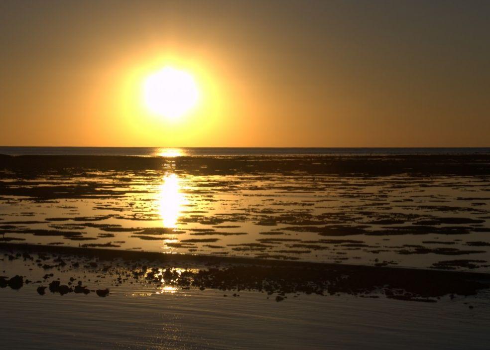 Закат на острове Херон, Австралия