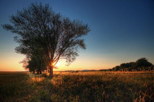 Цвета закатного солнца
