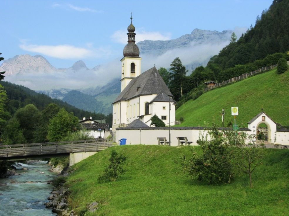 Церковь Рамзау-Берхтесгаден, Бавария