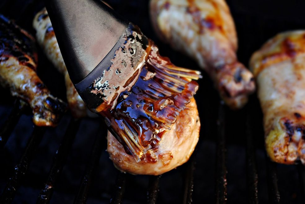 Куриные голени в глазури из джема фото-рецепт