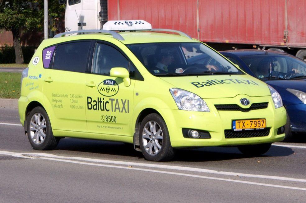 Рижское такси