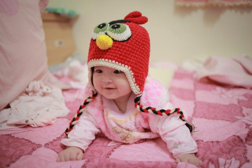 Шапочка-красная птица