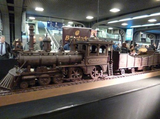 Шоколадный поезд
