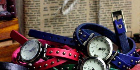 Молодежные дизайнерские наручные часы