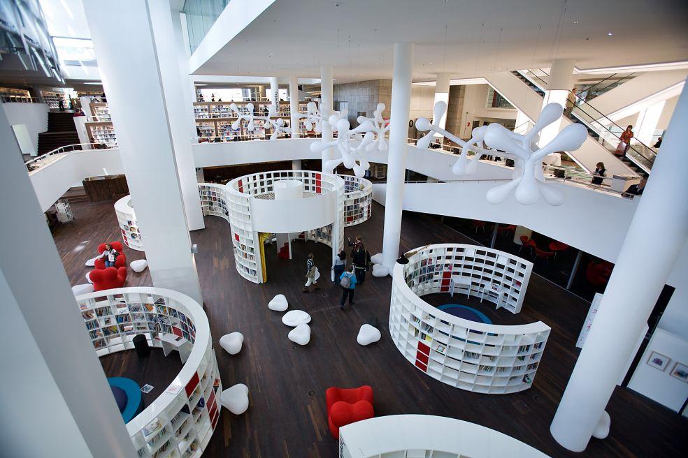 Центральная библиотека - Амстердам, Нидерланды