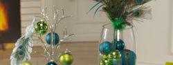 """Новогодняя сервировка стола — """"Жар-птица"""" (фото)"""