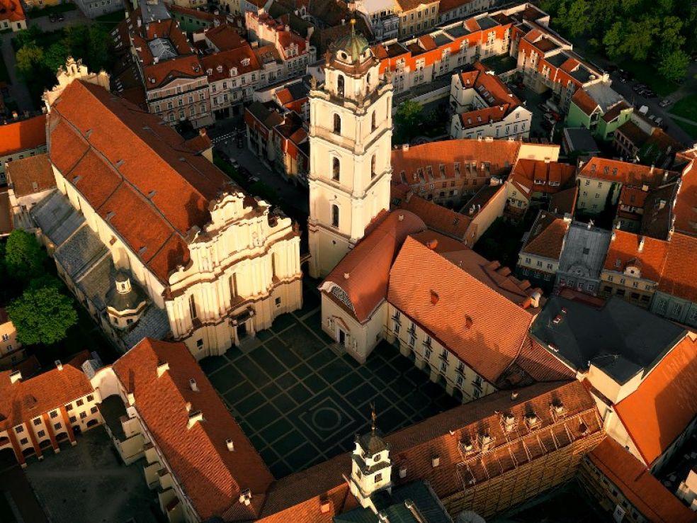 Вильнюс - по холмам старого города