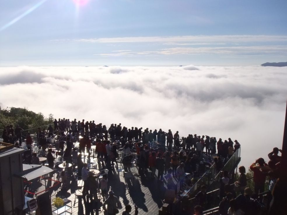Терраса Ункай – волшебное место над облаками